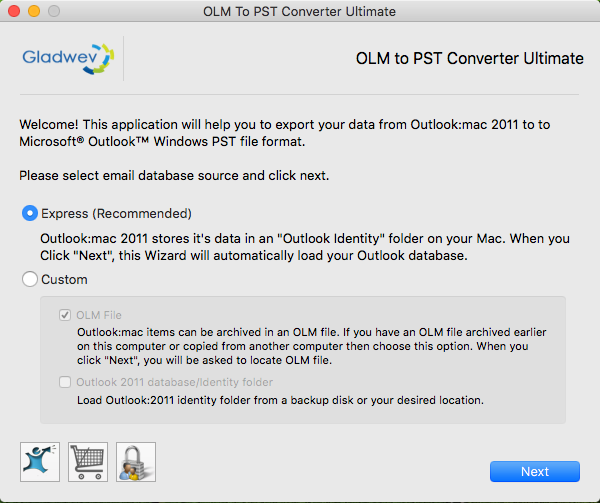how to move from outlook mac to window pst