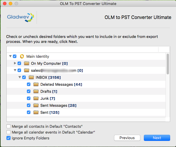 how to move from mac outlook files into pst