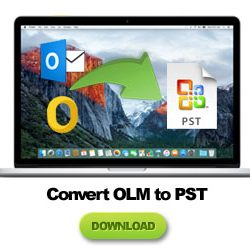 how to convert olm to pst