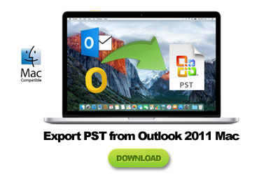 outlook 2011 mac export to pst