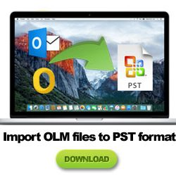 import outlook olm to pst