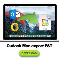 outlook for mac export to pst