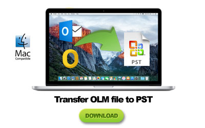transferring olm to pst